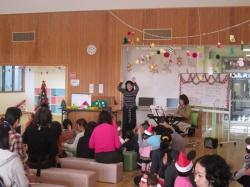 クリスマスコンサート ♪おいで、おいで、  おいで、おいで、うさぎ♪