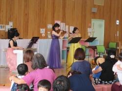 フルート&ヴァイオリン&ピアノでの 『アヴェ・マリア』